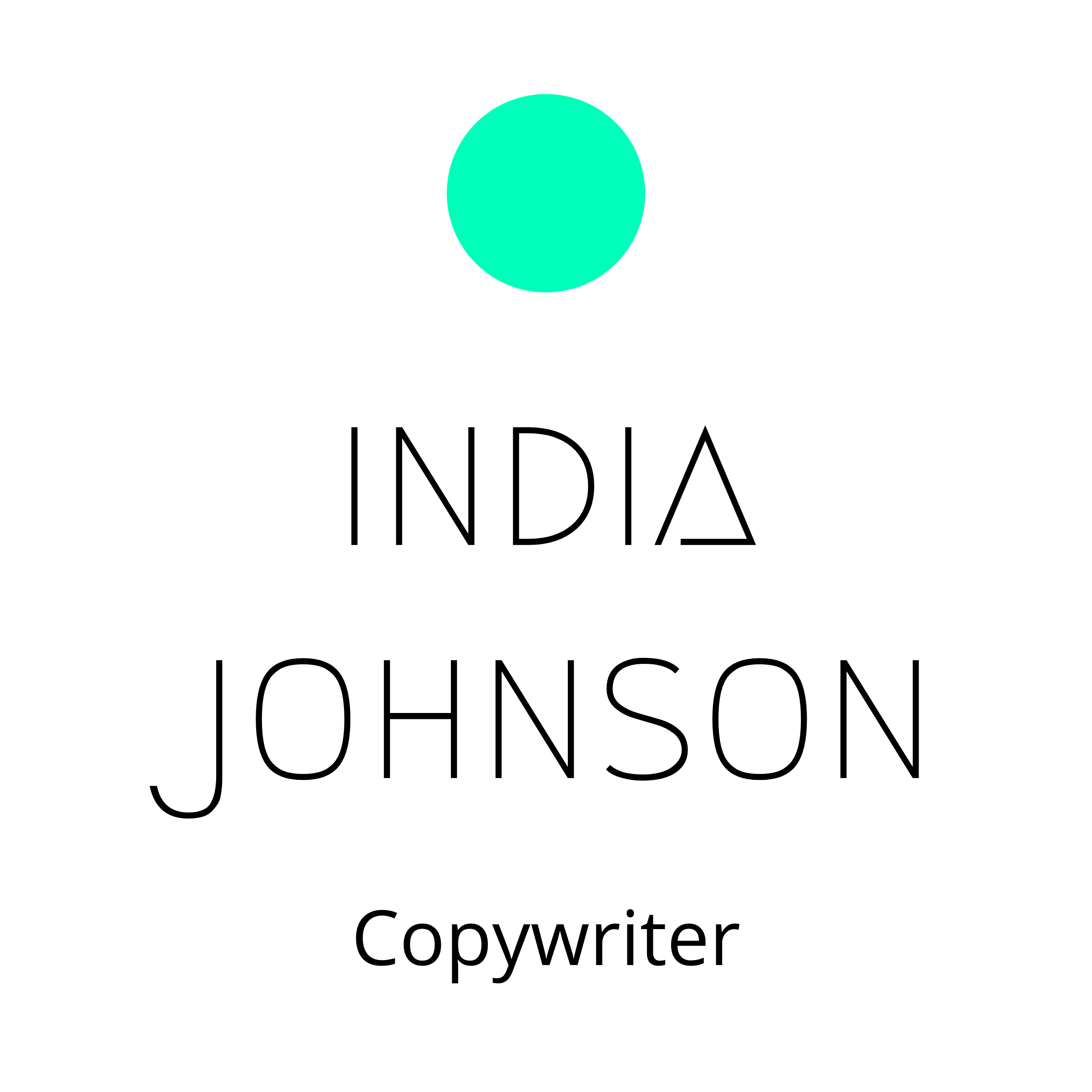 India Johnson London freelance copywriter